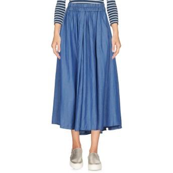 《セール開催中》DKNY レディース デニムスカート ブルー S 79% テンセル 21% 麻