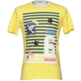 《期間限定セール開催中!》GREY DANIELE ALESSANDRINI メンズ T シャツ イエロー S 100% コットン ポリエステル