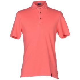 《セール開催中》DRUMOHR メンズ ポロシャツ コーラル S コットン 100%