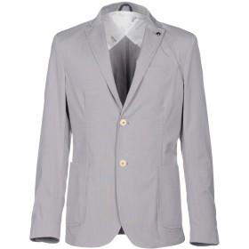 《期間限定 セール開催中》LIU JO MAN メンズ テーラードジャケット グレー 44 62% レーヨン 35% ポリエステル 3% ポリウレタン