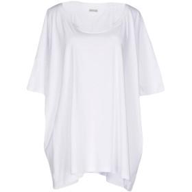 《期間限定セール開催中!》ALPHA STUDIO レディース T シャツ ホワイト 44 コットン 100%