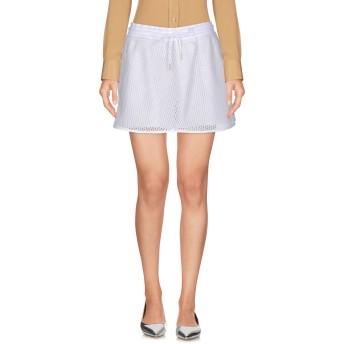 《セール開催中》NIKE レディース ミニスカート ホワイト L コットン 100% / ポリエステル