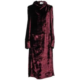 《セール開催中》MAISON MARGIELA レディース 7分丈ワンピース・ドレス ボルドー 40 レーヨン 100% / キュプラ
