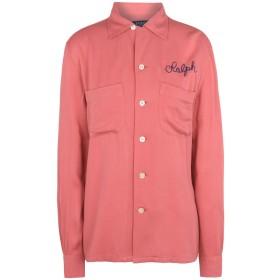 《期間限定セール開催中!》POLO RALPH LAUREN レディース シャツ コーラル XS レーヨン 100% The Old Montauk Shirt