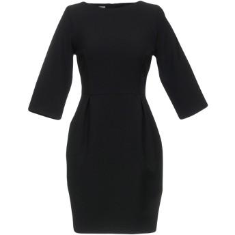 《セール開催中》BLUGIRL BLUMARINE レディース ミニワンピース&ドレス ブラック 40 88% ポリエステル 12% ポリウレタン