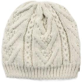 《期間限定セール開催中!》COLUMBIA Unisex 帽子 アイボリー one size アクリル 100% PARALLEL PEAK II BEANIE