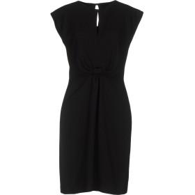 《セール開催中》INTROPIA レディース ミニワンピース&ドレス ブラック 36 ポリエステル 100%