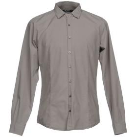 《期間限定セール開催中!》LIU JO MAN メンズ シャツ グレー 40 コットン 100%