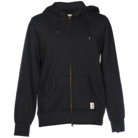 《9/20まで! 限定セール開催中》FRANKLIN & MARSHALL メンズ スウェットシャツ ブラック S コットン 100%