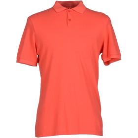 《期間限定 セール開催中》BAND OF OUTSIDERS メンズ ポロシャツ 赤茶色 1 100% コットン