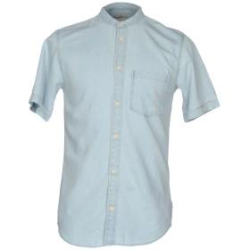 《期間限定セール開催中!》JACK & JONES ORIGINALS メンズ デニムシャツ ブルー S コットン 100%