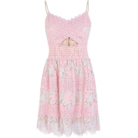 《セール開催中》FOXIEDOX レディース ミニワンピース&ドレス ピンク M ナイロン 60% / コットン 40% TABITHA MINI DRESS