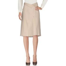 《期間限定セール開催中!》ANNA MOLINARI レディース ひざ丈スカート ベージュ 44 シルク 100%