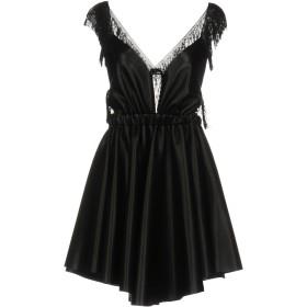 《セール開催中》ALBERTO AUDENINO レディース ミニワンピース&ドレス ブラック M ポリエステル 100%