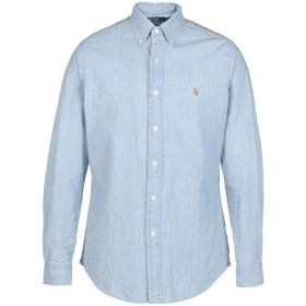 《期間限定 セール開催中》POLO RALPH LAUREN メンズ デニムシャツ ブルー S コットン 100% Slim Fit Chambray Shirt