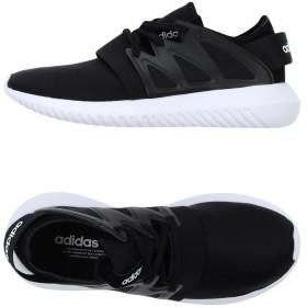 《セール開催中》ADIDAS ORIGINALS レディース スニーカー&テニスシューズ(ローカット) ブラック 4.5 革 紡績繊維