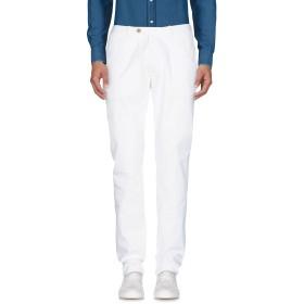 《期間限定セール開催中!》LUIGI BORRELLI NAPOLI メンズ パンツ アイボリー 34 98% コットン 2% ポリウレタン