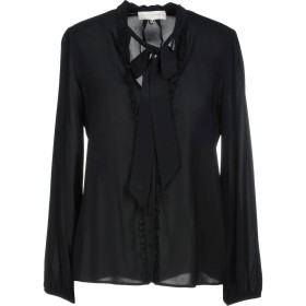 《期間限定セール開催中!》L' AUTRE CHOSE レディース シャツ ブラック 40 94% レーヨン 6% ポリウレタン
