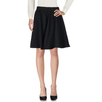 《セール開催中》CAPRI レディース ひざ丈スカート ブラック 46 ポリエステル 92% / アクリル 8%