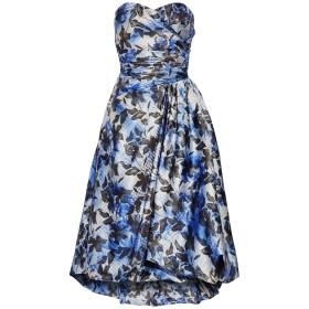 《セール開催中》MIKAEL AGHAL レディース 7分丈ワンピース・ドレス ブルー 6 ポリエステル 100%