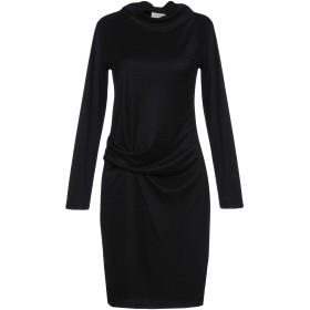 《セール開催中》BY MALENE BIRGER レディース ミニワンピース&ドレス ブラック L 60% レーヨン 40% ポリエステル
