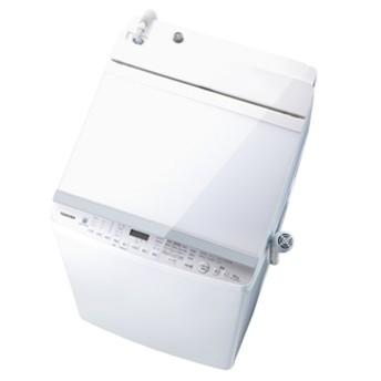東芝10.0kg洗濯乾燥機オリジナル ZABOONグランホワイトAW-10SVE6(W)
