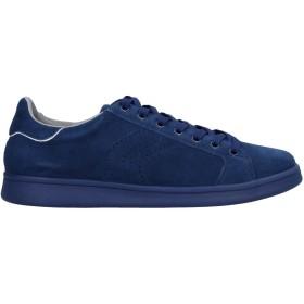 《期間限定セール開催中!》GEOX メンズ スニーカー&テニスシューズ(ローカット) ブルー 40 革 / 紡績繊維