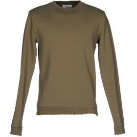 《期間限定セール開催中!》ALTERNATIVE メンズ スウェットシャツ ミリタリーグリーン S ポリエステル 67% / コットン 33%