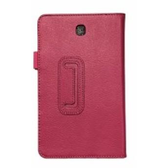 ト【送料無料】 Samsung Galaxy Tab S2 8.0 スタンド機能付きケース 二つ折 カバー 薄型 軽量型 スタンド機能 PUレザーケース