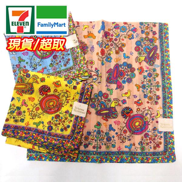 vivienne 手帕/領巾 日本進口/100%純棉全新現貨附信封袋包裝