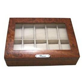 サンブランド 木製時計収納ケース(10本用) 189963