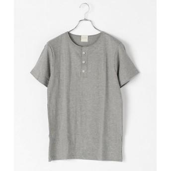 <パラファナリア/PARAPHERNALIA> ヘンリーネックTシャツ(半袖)(0118388102) 95グレー 【三越・伊勢丹/公式】