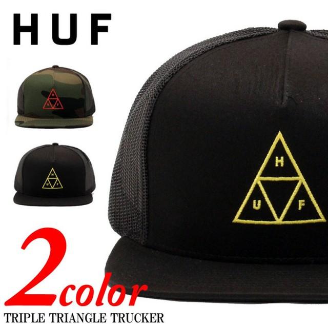 huf ハフ triple triangle trucker cap ハフ トリプルトライアングル