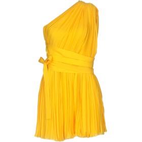《セール開催中》DSQUARED2 レディース ミニワンピース&ドレス オークル 44 シルク 100%