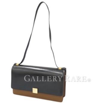 セリーヌ ショルダーバッグ ミディアムサイズ バイカラー カーフスキン Case Bag 170813MJD.04FG CELINE バッグ