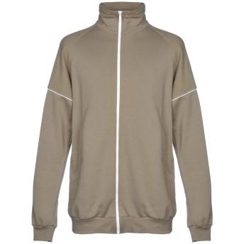 《期間限定セール開催中!》BONSAI メンズ スウェットシャツ ミリタリーグリーン S コットン 100% / ポリウレタン