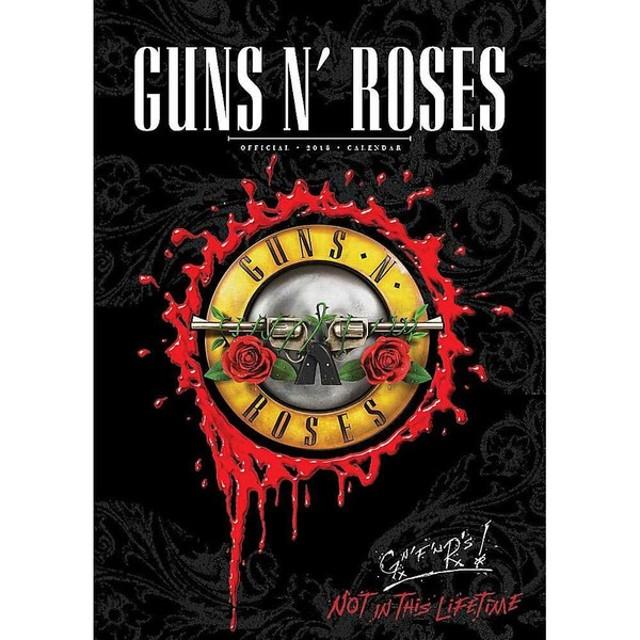guns n roses ガンズアンドローゼズ official 2018 calendar