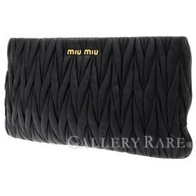 ミュウミュウ クラッチバッグ マテラッセ RP0354 MIUMIU Matelasse バッグ ポーチ