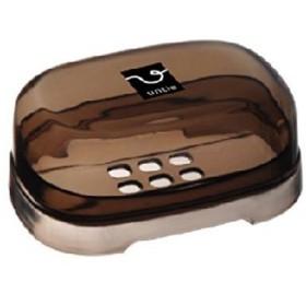 シンカテック:アンティクリスタル 石鹸箱E ブラウン 420032