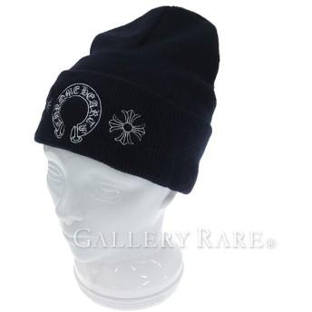 クロムハーツ ニット帽 ホースシュー ハービー CHROMEHEARTS 帽子 メンズ ウォッチ【ワゴン】