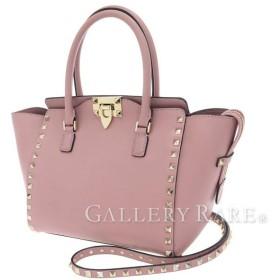 ヴァレンティノ・ガラヴァーニ ハンドバッグ ロックスタッド スモールサイズ 2wayショルダーバッグ VALENTINO ヴァレンチノ スタッズ バッグ
