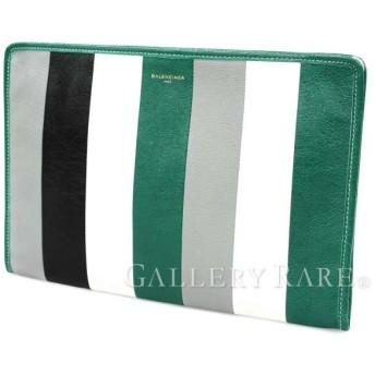 バレンシアガ クラッチバッグ グリーンマルチカラー 480992 BALENCIAGA バッグ メンズ セカンドバッグ