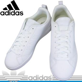 adidas B74685 アディダス VAL CLEAN2 コートタイプスニーカー バルクリーン2 B-74685 ホワイト/ホワイト 白靴 メンズ レディース スニーカー 白スニーカー