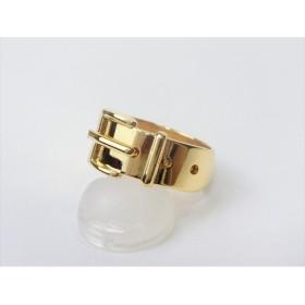 グッチ スカーフリング ベルトモチーフ ゴールド GUCCI レディースファッション小物 ブランドアクセサリー