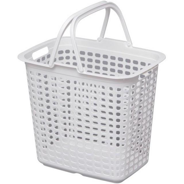 IRIS ランドリーバスケット ピュアホワイト LBLPWH 8292365