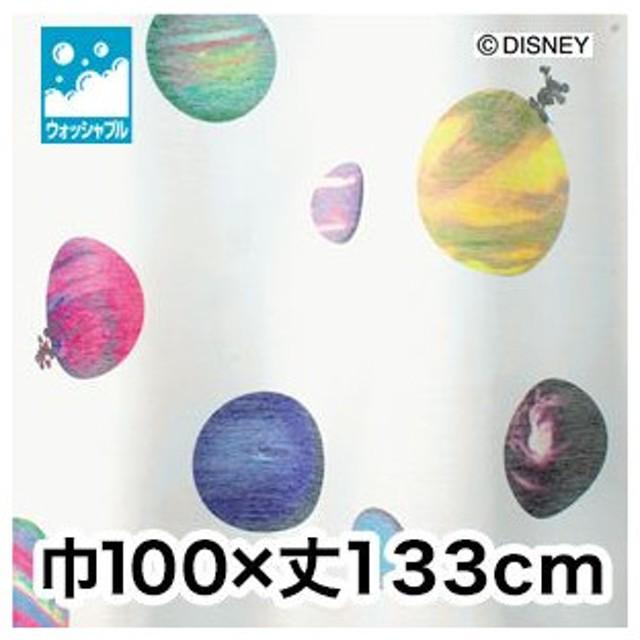 カーテン ディズニーファン必見スミノエ Disney レースカーテン MICKEY Cosmo 巾100×丈133cm M-1061M-1061