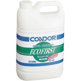 CONDOR:コンドル フロアクリーナー(エコファースト)4L 中性 洗剤 フロア用