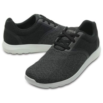 【クロックス公式】 クロックス キンセイル スタティック レース メン Crocs Kinsale Static Lace メンズ、紳士、男性用 ブラック/黒 25cm,26cm,27cm,28cm,29cm shoe 靴 シューズ