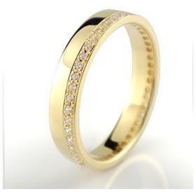 ピンキーリング ダイヤモンド エタニティ フルエタニティリング 指輪 イエローゴールドk18 18金 ダイヤ ストレート 送料無料