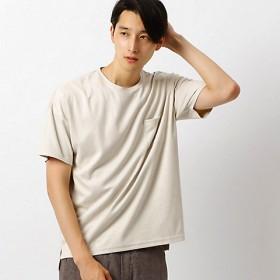 【SALE(三越)】<COMME CA ISM (メンズ)> フェイク スエード Tシャツ(4760TI04) オフホワイト 【三越・伊勢丹/公式】